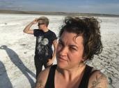 Sask salt flats