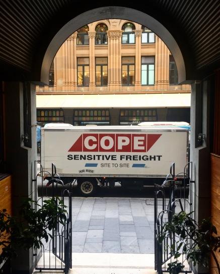 Sensetive freight